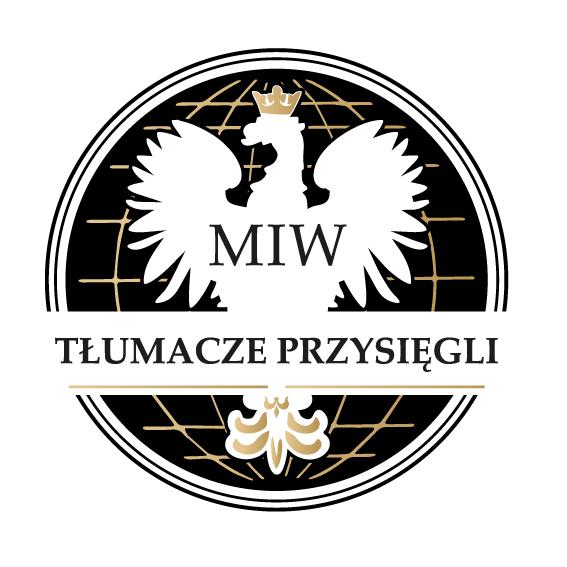 Biuro tłumaczeń MIW logo